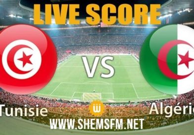 Match Algérie Tunisie en direct