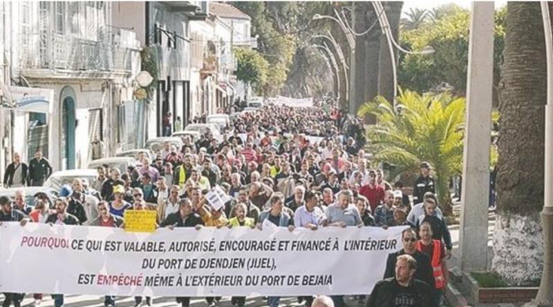 Marche millionnaire le 11 janvier 2018 à Tizi Ouzou pour soutenir Cevital