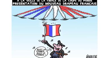 AÏNOUCHE: Présentation du nouveau drapeau français