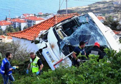 Accident meurtrier d'un bus de touristes à Madère