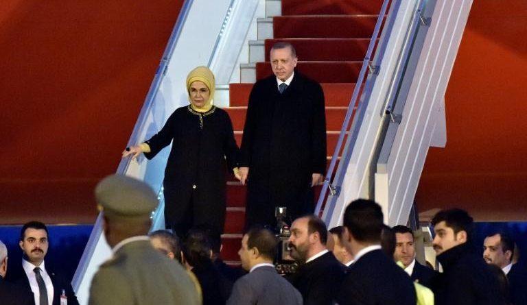 Recep Tayyip Erdogan   à Alger